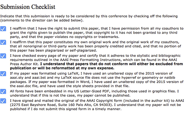aaai press paper submission instructions